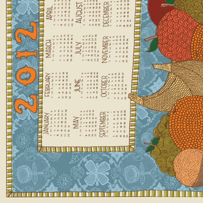 2012 Fruit Basket Calendar