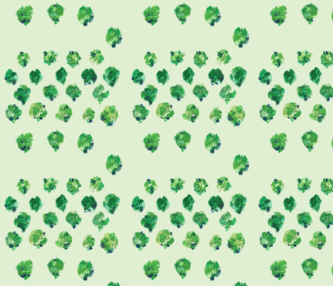 cestlaviv_sprouts fabric by cest_la_viv on Spoonflower - custom fabric