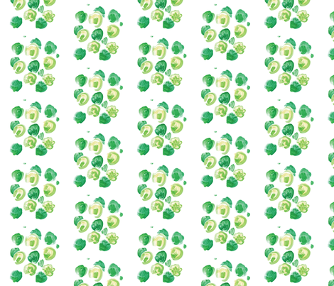 cestlaviv_cabbage fabric by cest_la_viv on Spoonflower - custom fabric