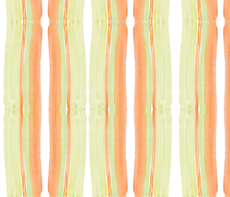 cestlaviv_cantelope fabric by cest_la_viv on Spoonflower - custom fabric