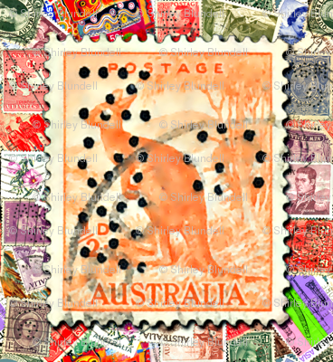 Australian_Stamp_with_Kangaroo