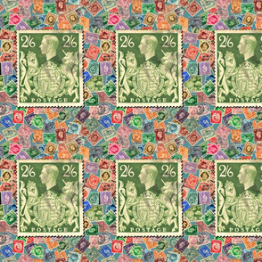 Greart_Britain_Stamp_with_George6