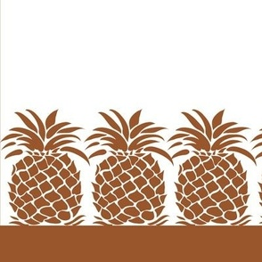 Pineapple Napkin - Brown