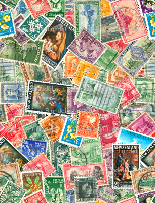 Stamps - New Zealand