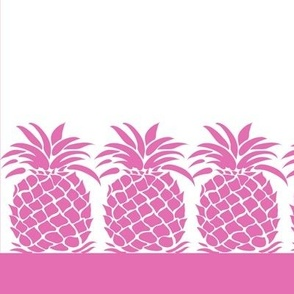Pineapple Napkin - Pink