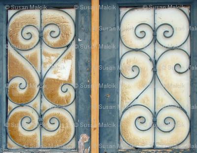 Big Doors-window panes only