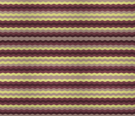 Thin waffle stripe, aubergine and grape fabric by su_g on Spoonflower - custom fabric