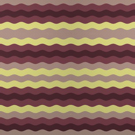 Thin waffle stripe, aubergine + grape by Su_G fabric by su_g on Spoonflower - custom fabric