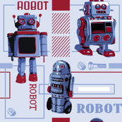 Happy Retro Bots
