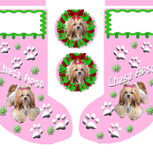 Lhasa_Apso_Christmas_Stocking