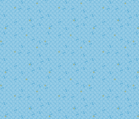 Abstractions blue fabric by glimmericks on Spoonflower - custom fabric