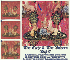 The Lady & The Unicorn Tapestry