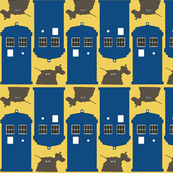 the tardis and the tin dog