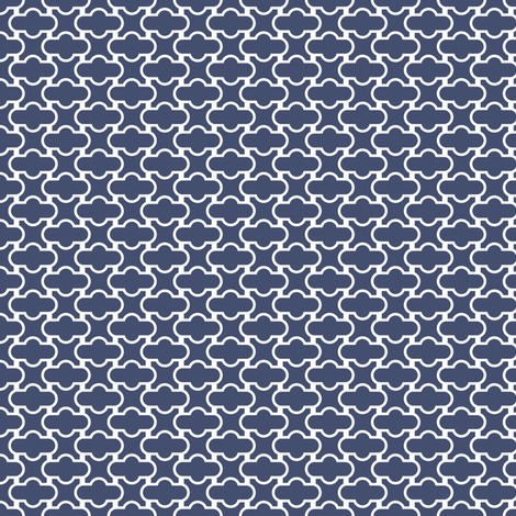 Blues: Screen fabric by jennartdesigns on Spoonflower - custom fabric