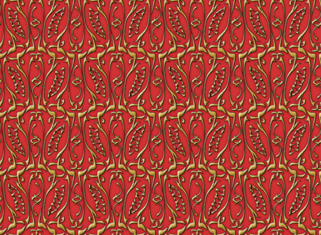 glyphic3 fabric by glimmericks on Spoonflower - custom fabric