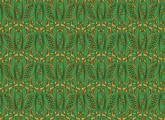 glyphic5 fabric by glimmericks on Spoonflower - custom fabric