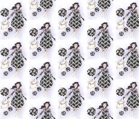 I love to shop fabric by sharlzndollz on Spoonflower - custom fabric