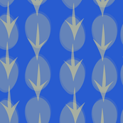 Hens Eggs in Blue