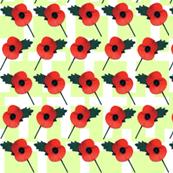 Poppy Parade Green