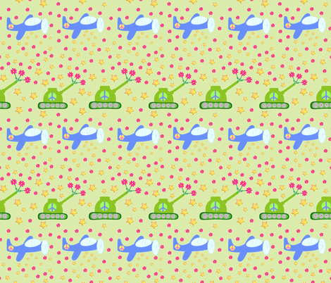 lovebombs fabric by pedrapapeltesoura on Spoonflower - custom fabric