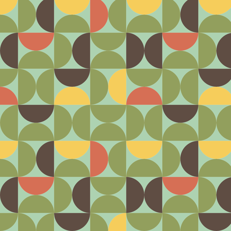 funky fabric by lighthearts on Spoonflower - custom fabric