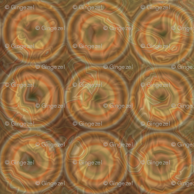 Textured Concentric Ring Dots © Gingezel 2012