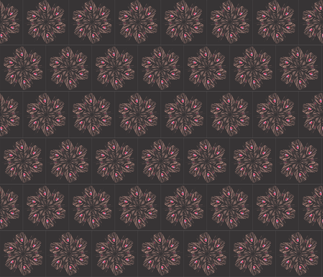 feather_pink_spoonflower_10_30_2011 fabric by compugraphd on Spoonflower - custom fabric