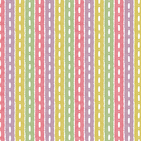 Grosgrain Ribbons - Vintage fabric by kristopherk on Spoonflower - custom fabric