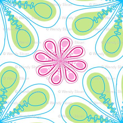 Christmas Fabric Pastel