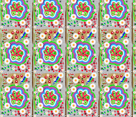 JamJax Daisy Quilty fabric by jamjax on Spoonflower - custom fabric