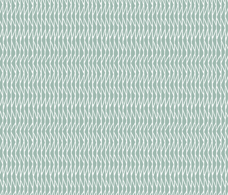 Triangle - Misty Blue fabric by hitomikimura on Spoonflower - custom fabric