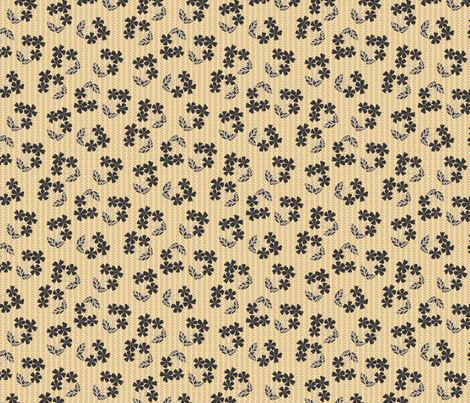 Scatter floral fabric by kezia on Spoonflower - custom fabric