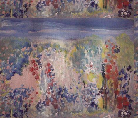 Flower Garden fabric by myartself on Spoonflower - custom fabric