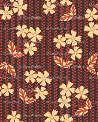 Scatter floral