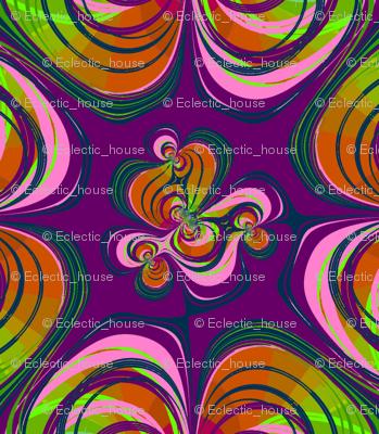 1960's style Fruity Swirls