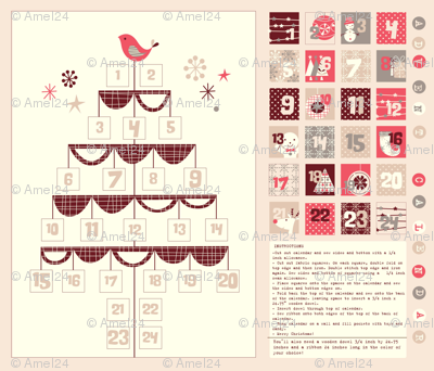 birdy advent calendar