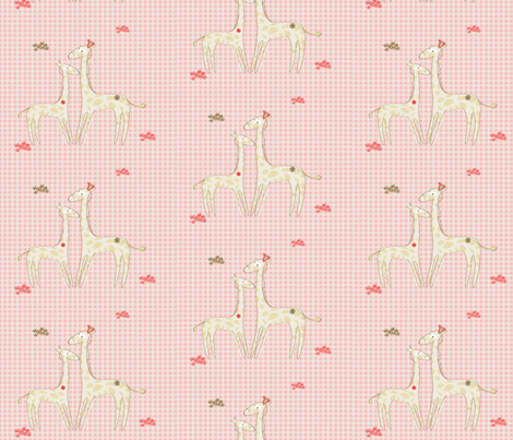 giraffe fabric by kato_kato on Spoonflower - custom fabric