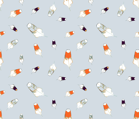 Feather_carroussel fabric by alfabesi on Spoonflower - custom fabric