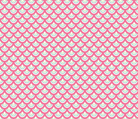 shells fabric by alison_and_bear on Spoonflower - custom fabric