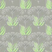 Rrrrqueen_anne_faux_metallic_green_leaves_shop_thumb