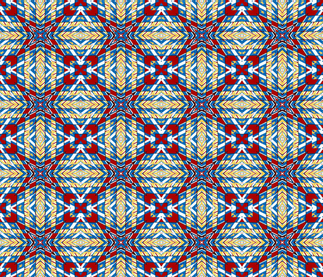 Military Flags Warp #1 fabric by artist4god on Spoonflower - custom fabric