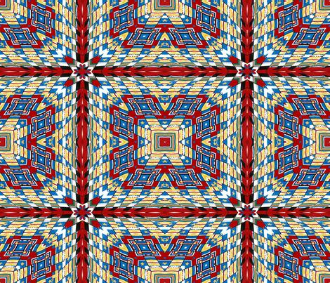 Military Flags Warp #2 fabric by artist4god on Spoonflower - custom fabric