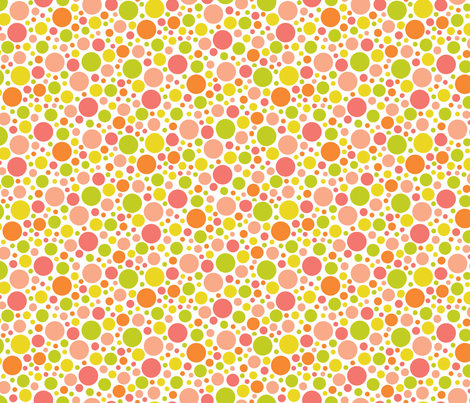 Weather Dots fabric by kayajoy on Spoonflower - custom fabric