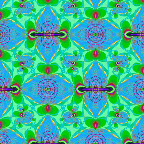 Rainforest puddle fabric by eclectic_house on Spoonflower - custom fabric