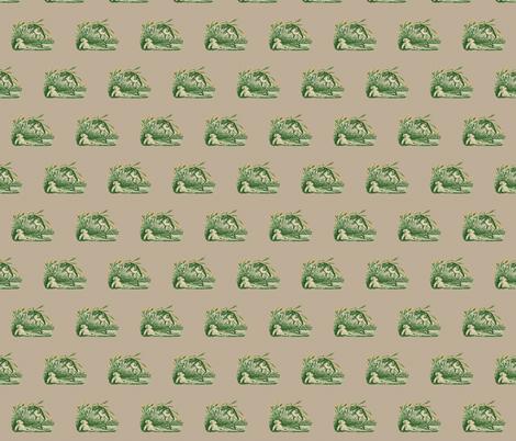 Vintage Frog  fabric by icarpediem on Spoonflower - custom fabric