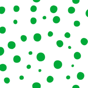 Not quite polka dots in rich emerald green -- prints as SFOOAA39