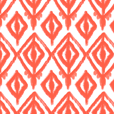 elegant ikat fabric by fable_design on Spoonflower - custom fabric