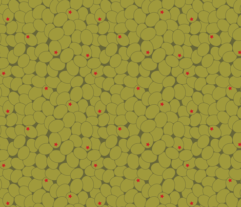 stary_olives fabric by natasha_k_ on Spoonflower - custom fabric