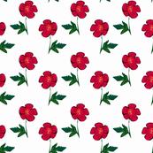 Red Single Rose