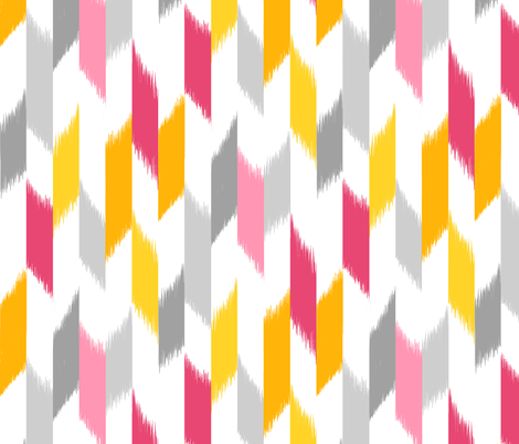 Ikat Stripes fabric by pattysloniger on Spoonflower - custom fabric